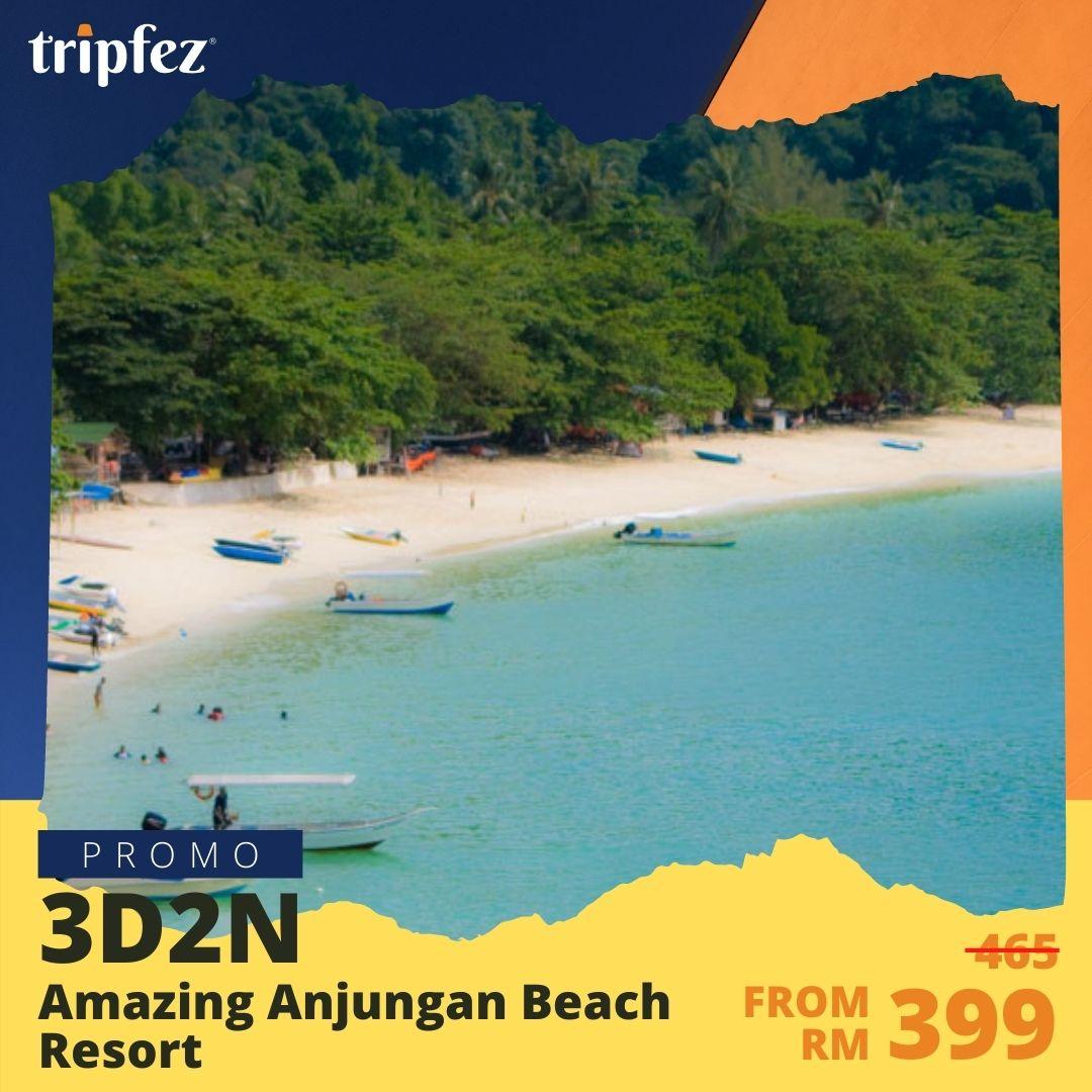 Amazing Anjungan Beach Resort
