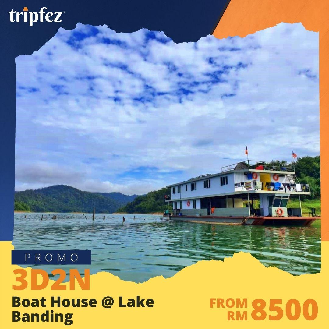 Boat House @ Lake Banding